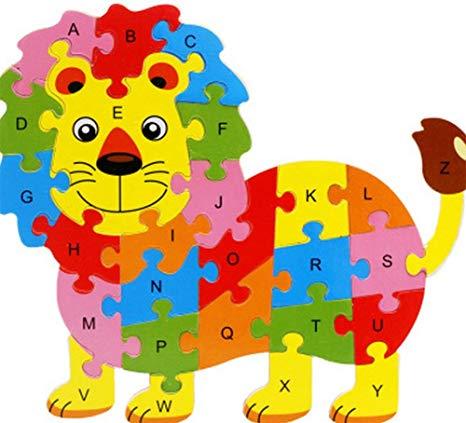 rompecabezas león